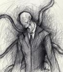 Slenderman (old) by Awesome432101234