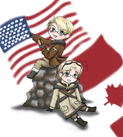 APH - North America by Mosrael-the-Waker