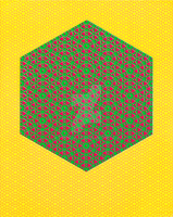 HyperCube Yellow Green Red by atomicdave