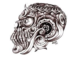 Skull Design by Almigh-T