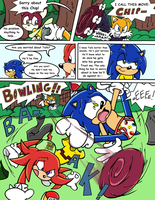 Sonic Survivor Island - Pg.20: He'll Be Fine by SDCharm