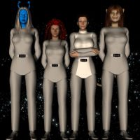 KotOR Girls TMP style by Colonel-Azzameen