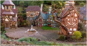 Belle's village by fromfairyland