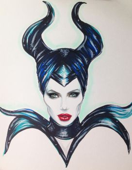 Maleficent by Madonna1250