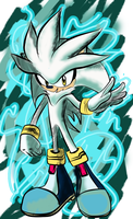 Silver the hedgehog by seantriana