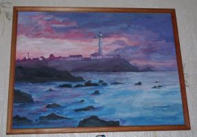 lighthouse by lAmikol
