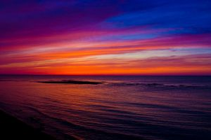 Fire on the horizon by Michel1963