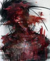 [27] Untitled Oil & Charcoal  On Panel 72 by ShinKwangHo