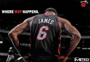 MVP: Lebron James by carmelosidd