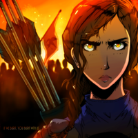 If We Burn, You Burn With US | Mockingjay Part 1 by spenzbowart