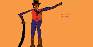 Steampunk Spider-Man by TheUltimateSpiderFan