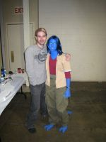 Nightcrawler and Brad Swaile by KittyCanuck