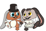 Foxey-150 and Ritzechen Wedding by SchnuffelKuschel