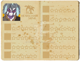 Revolution Island: Aengus Heart Chart by ToxicCreed