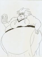 More fat Ryoko by Robot001