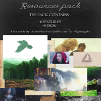 Resources pack by taxi-to-heaven / Nightingale. by taxitoheaven