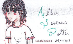 Albus Severus Potter by ladysugarquill