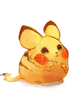 Pikachu by H-appysorry
