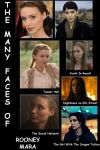 Many faces of Rooney Mara by RetardMessiah
