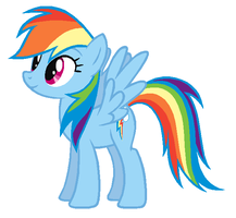 Rainbow Dash concept alt by Durpy