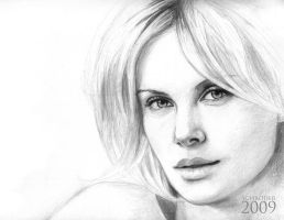 Charlize Theron by FedeSchroe