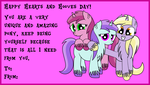 Happy Heart's and Hooves Day Card by DinkyUniverse