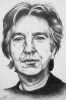 Alan Rickman by LeahRosslyn
