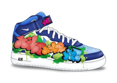 RPRSNT Nike shoe comp entry by Igasm