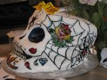 Sugar Skull cake Side 2 by heartthedead