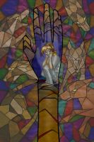stained glass by Myrretah
