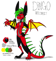 2012 Dingo Reference by DeathDragon13