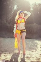 Final Fantasy X2 - Rikku by beethy