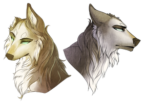 One-Ear Busts +SPEEDPAINT+ by DoctorCritical