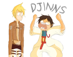 Attack On Djinns by Wowza-Wowzers