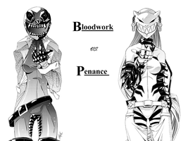 Bloodwork Penance WP by ComiPa