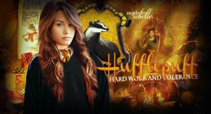 Demi in Hufflepuff by by-rebelle