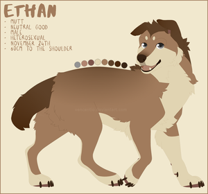 ETHAN REF. SHEET by Vencentio