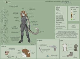 Tam - Character Sheet by Ulario
