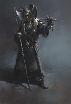 old the warrior by zalas