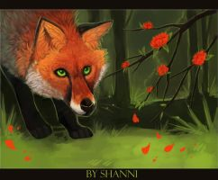 Fox~ by madShanni