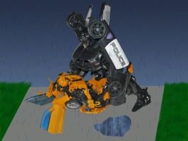 Barricade and bumblebee favourites by medusaofqeb on deviantart