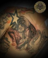 2 session Angel Horror tat by 2Face-Tattoo