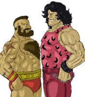 Zangief vs Hugo by eloyoya92