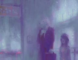 The Commute (Original) by Alex-Chow