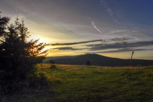 Sunrise over Fatra by neral85