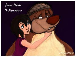 Anne Marie and Armanno by darkmane