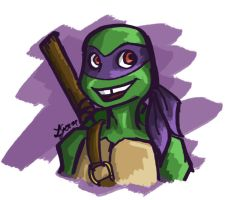 TMNT 2012: Donny by galaxyofgover