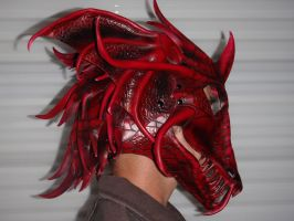 Dragon Helm worn side by Red-Dragon-Lord