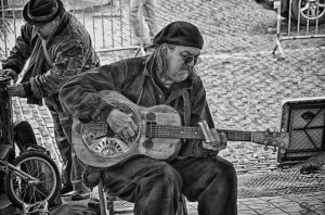 Music Man Bw by ShannonCPhotography