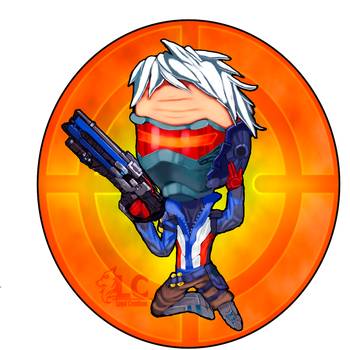Overwatch-Little Soldier by mayle128